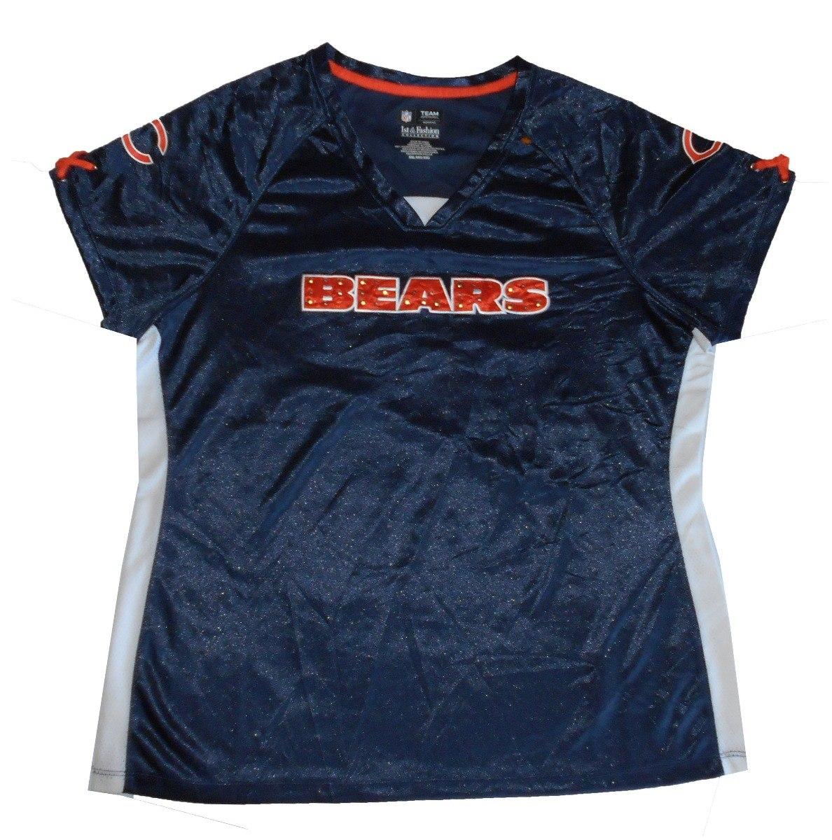 852dcdfe593fd Camiseta De Nfl - Xxl - Chicago Bears (juvenil mujer) - Plz -   690 ...