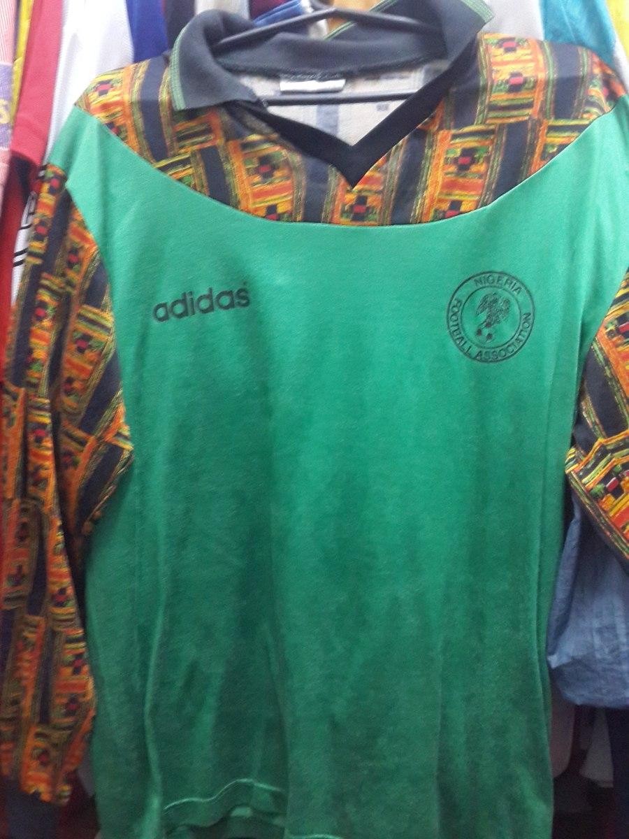 camiseta de nigeria adidas de los 90 usada por arqueros. Cargando zoom. edc168cf9039c