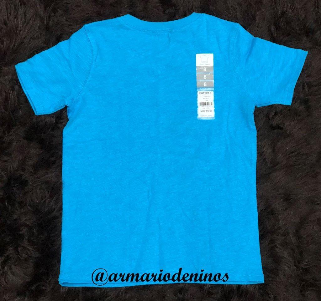 Camiseta De Niño Carters Talla 8 -   55.000 en Mercado Libre a9ca5c17780