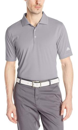 camiseta de polo con cuello redondo adidas golf para hombre