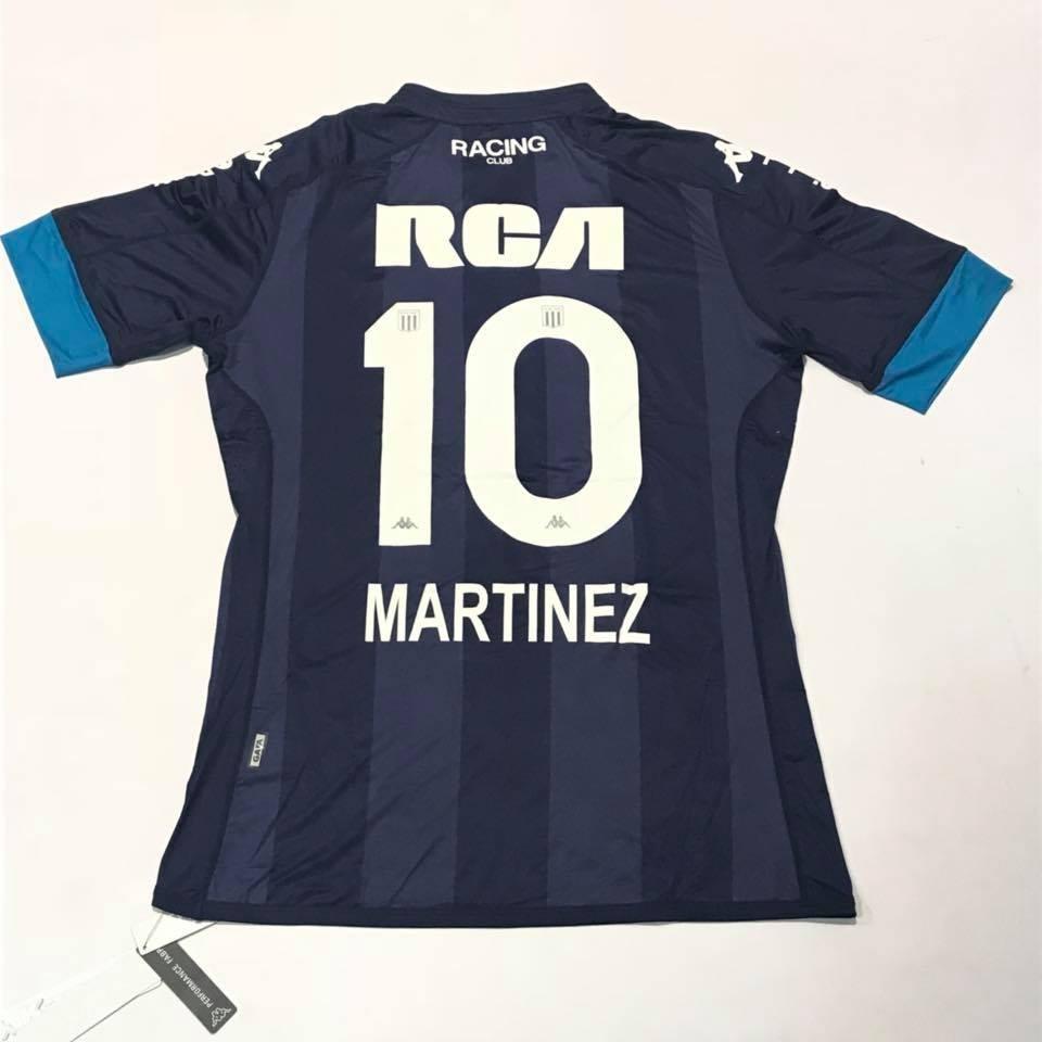 camiseta de racing club kappa suplente 2017 10 martinez. Cargando zoom. f81045bd57d4c