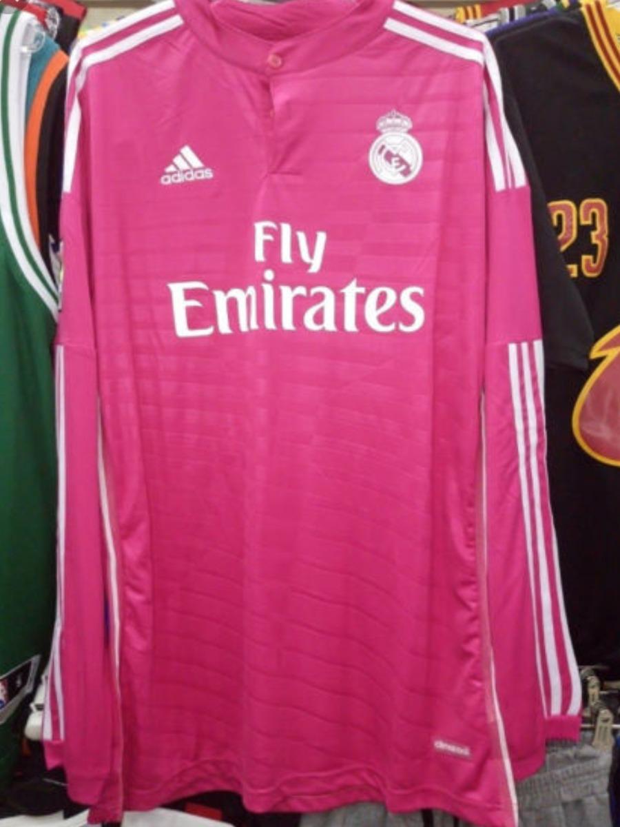 7f8ae8a752972 camiseta de real madrid rosada manga larga. Cargando zoom.