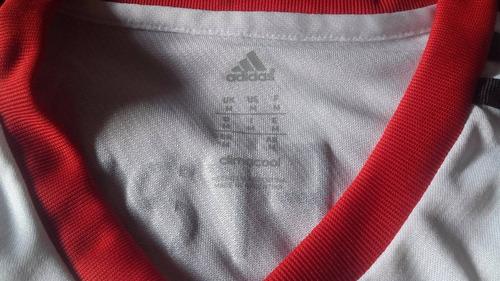 camiseta de river adidas formotion - nueva y original - m