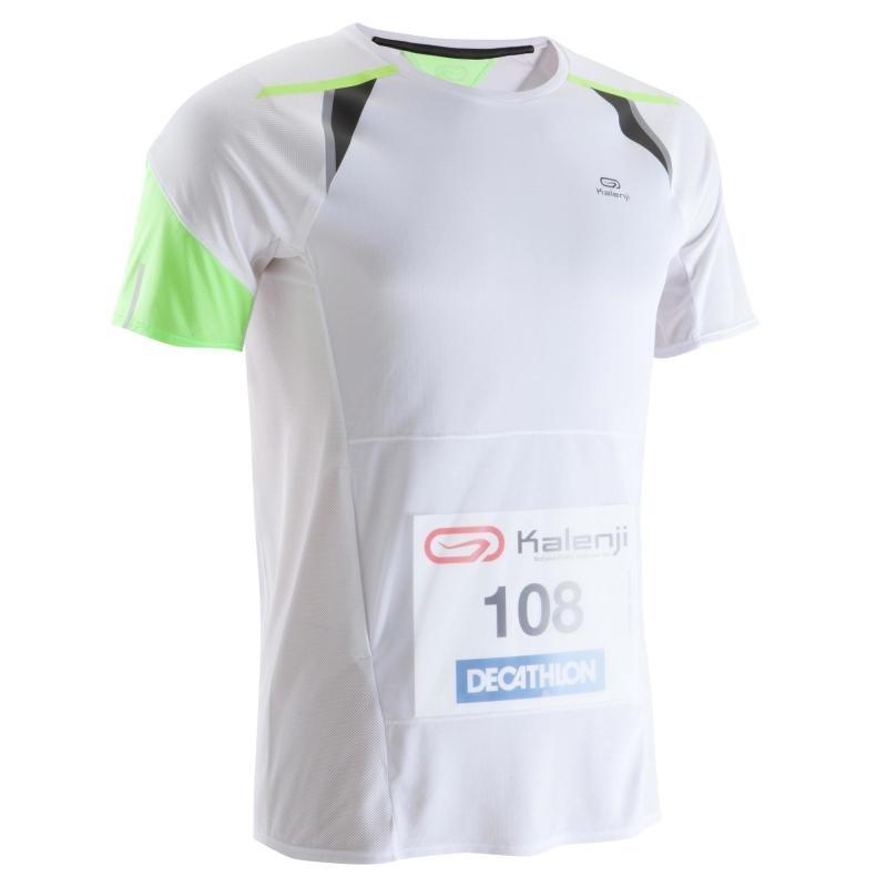 camiseta de running hombre porta dorsal blanco kiprun. Cargando zoom. 5645adf4918