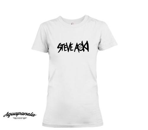 camiseta de steve aoki para dama