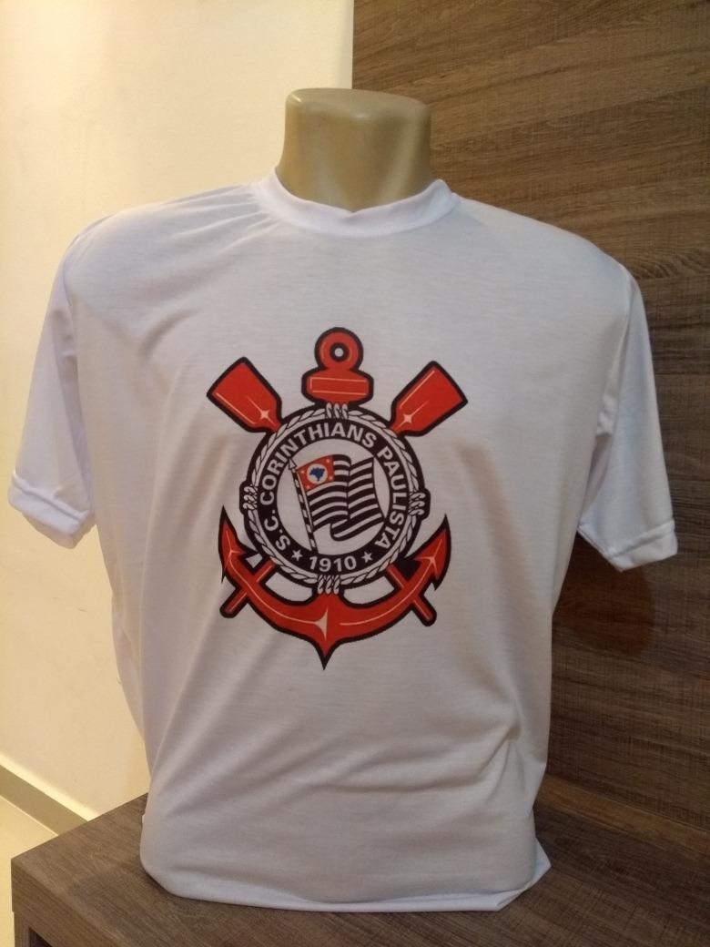 camiseta de time com seu nome corinthians santos são paulo. Carregando zoom. 6c97eacf31e20