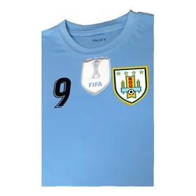 Camiseta De Uruguay Para Niño Personalizada Con Envio Gratis