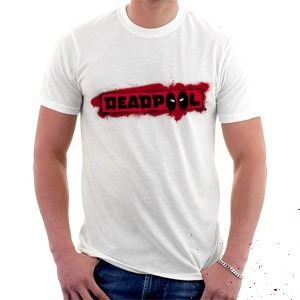 camiseta dead pool filme - super heroís - vingadores