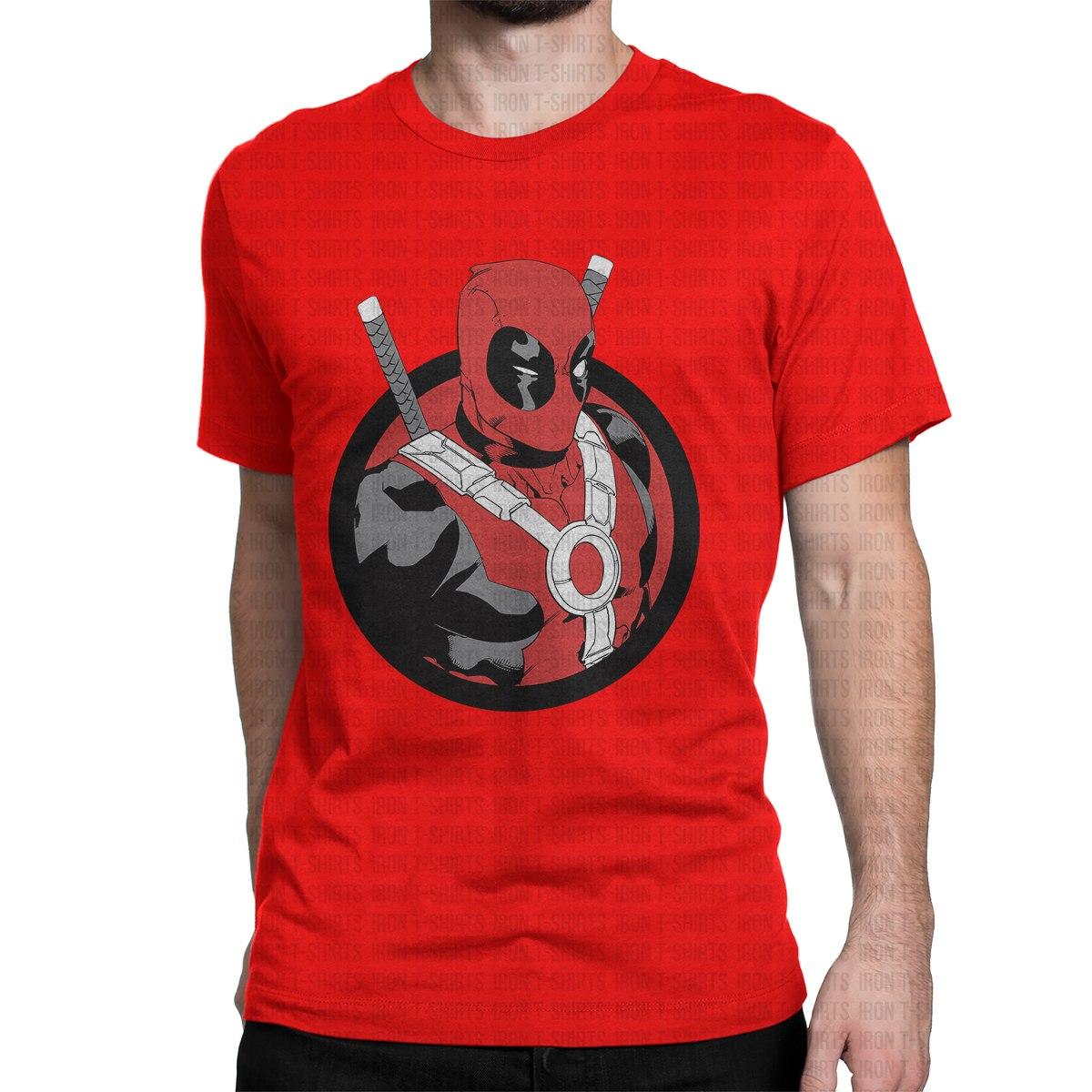 64879c4edacb3 Camiseta Deadpool Wade Winston Super Herói Camisa Geek Nerd - R  39 ...