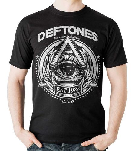 camiseta deftones 1988 rock activity