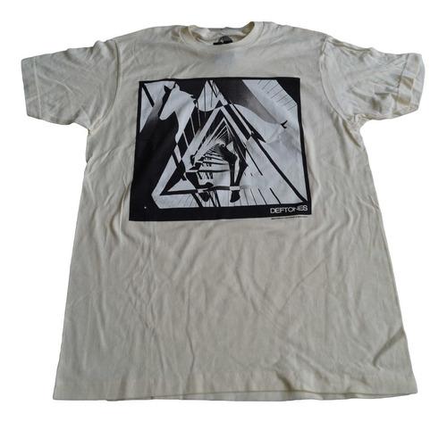 camiseta deftones rock activity talla m