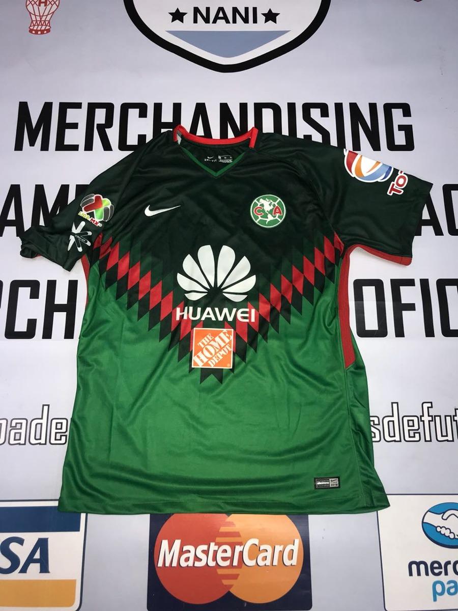 Camiseta Del America De Mexico Verde 2018 Buenisima!! -   1.799 c9fc32a1dde51
