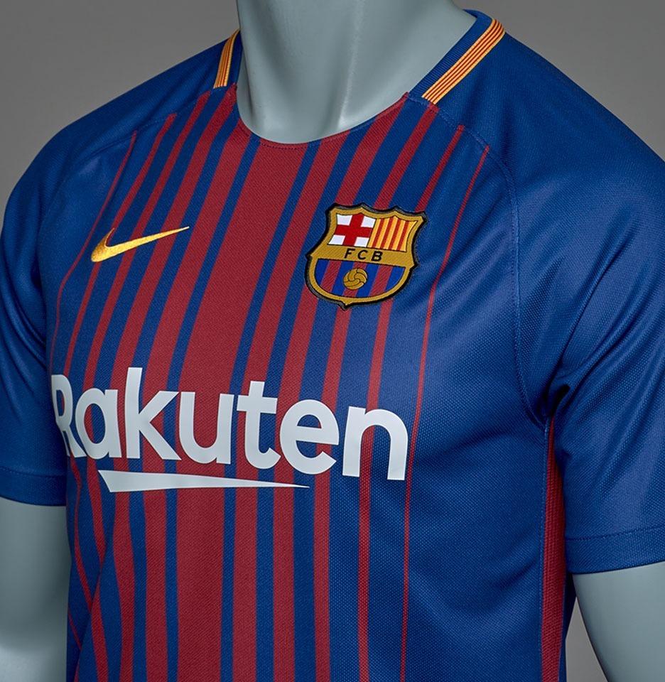 Camiseta Del Barcelona 17-18 Lionel Messi 78b17052ae6