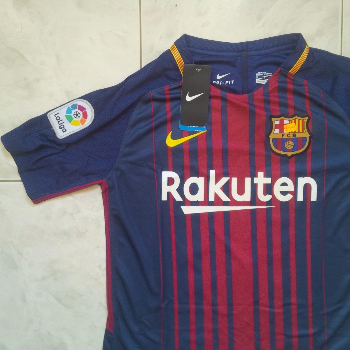 camiseta del barcelona 2017-2018 local + messi 10. Cargando zoom. 2734d5f83f5