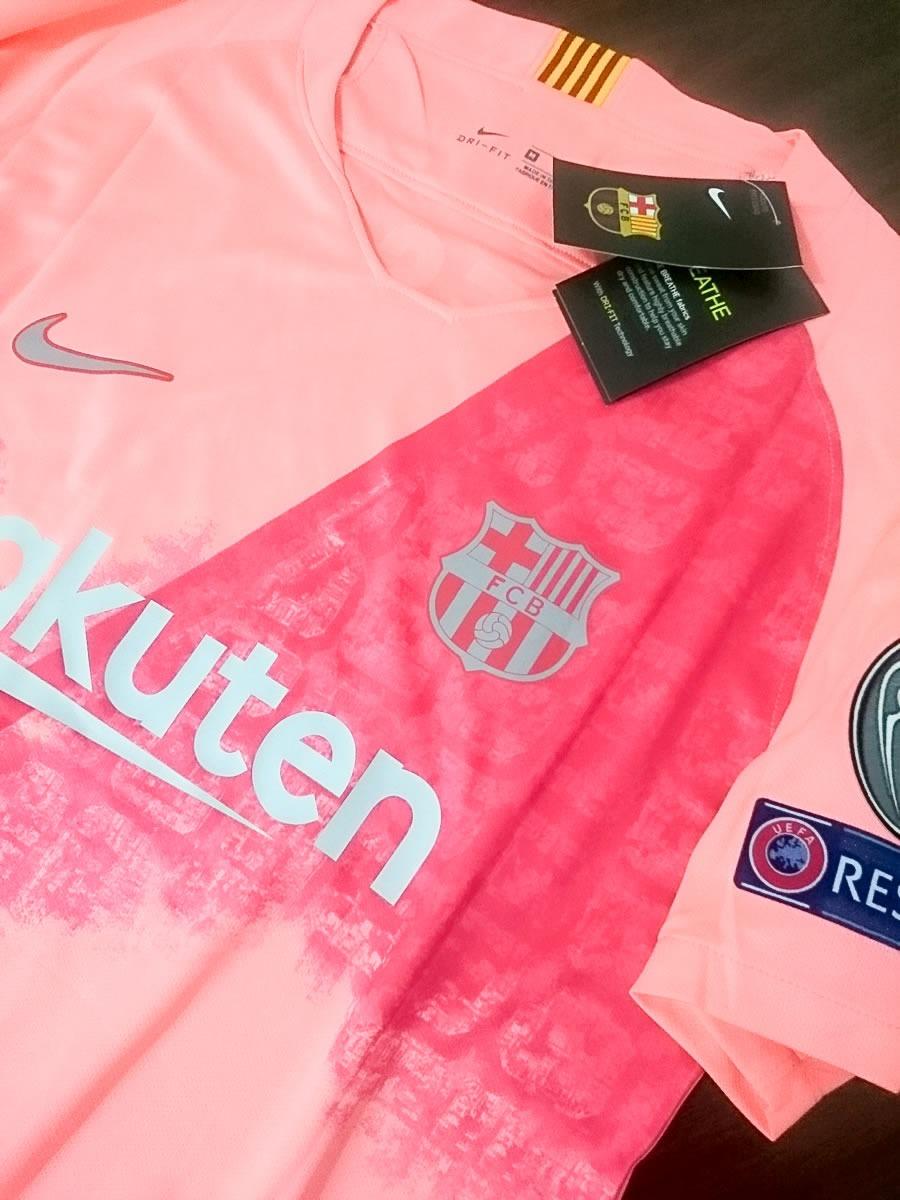 camiseta del barcelona (color rosa). Cargando zoom. dc064f9a026