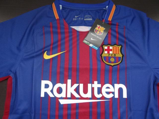 Camiseta Del Barcelona Fc 2017-2018 Original