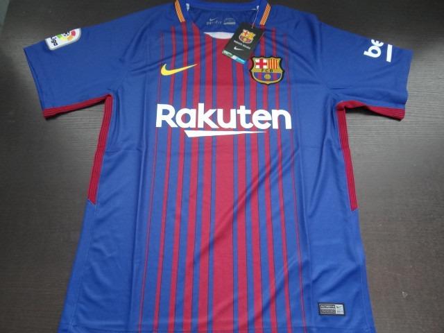 Camiseta Del Barcelona Fc 2017-2018 Original - Bs. 120,00 en Mercado Libre