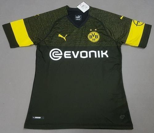 e02733b81 Camiseta Del Borussia Dortmund Visitante Temporada 2018 19 ...