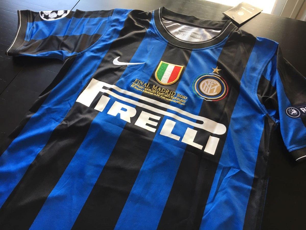 Camiseta Del Inter Temporada 2010  22 Milito Original -   1.250 69b6d3d820a67