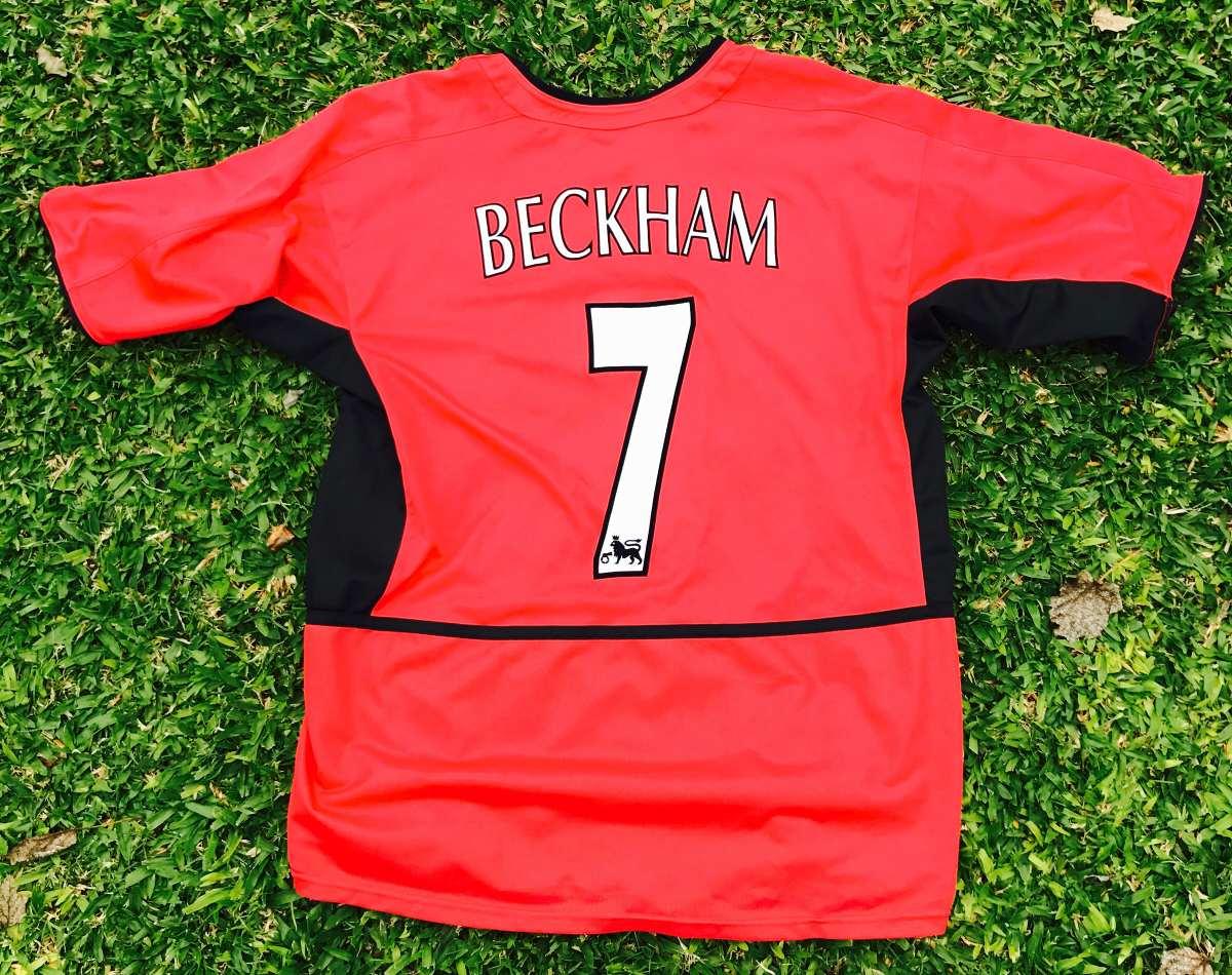dd6b2ceef67 Camiseta Del Manchester United Nike David Bekham Madre Un Uk ...