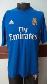 e36c6f4d8e Camiseta Real Madrid Cuello Naranja Clubes Primera - Camisetas Azul en  Mercado Libre Argentina