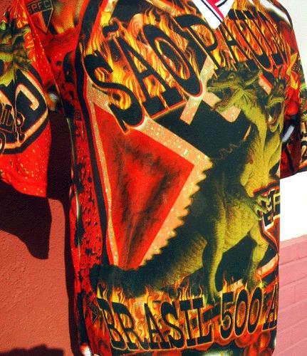 camiseta del sao paulo