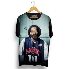 3fe44e7fff Camiseta Dep Snoop Dogg Usa Preta