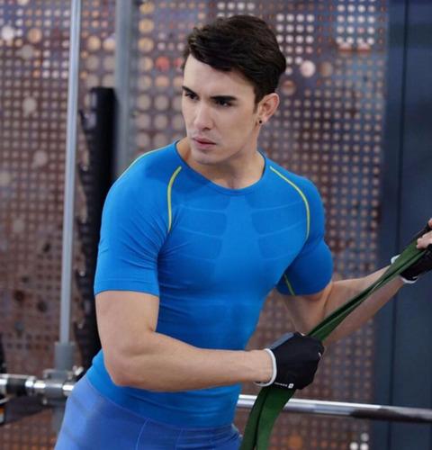 camiseta deportiva para hombre gym mma crossfit running bici