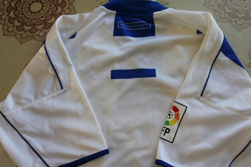 camiseta deportivo alaves lfp traida de españa