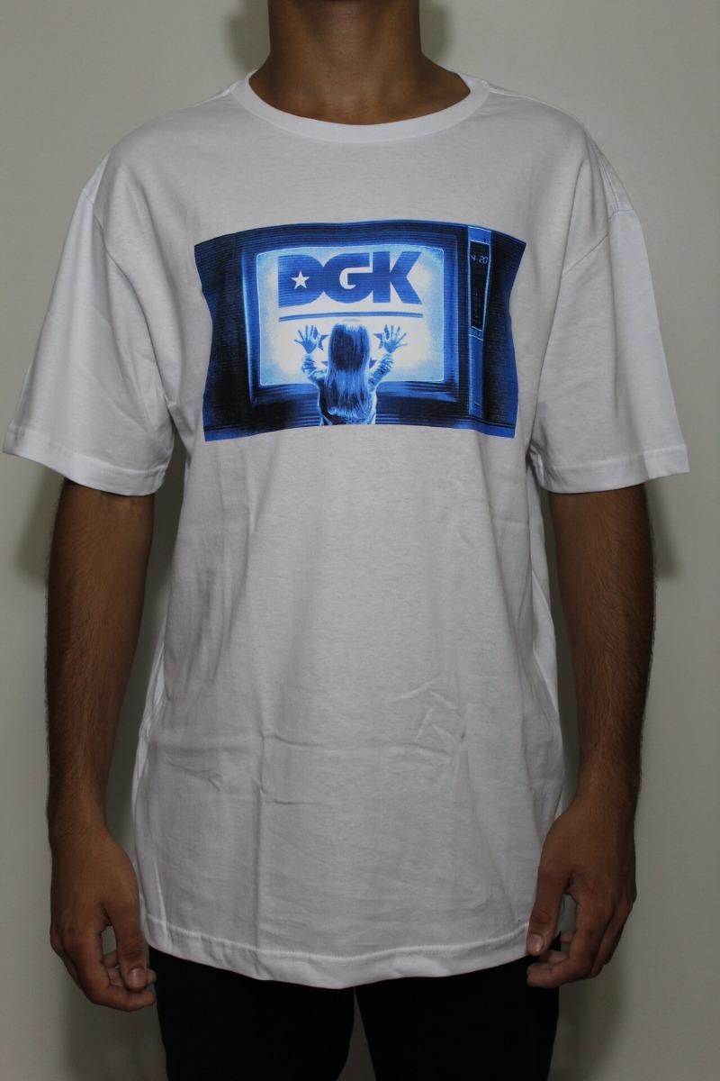 camiseta dgk static branca - g - branca. Carregando zoom. 2c102f5849f53
