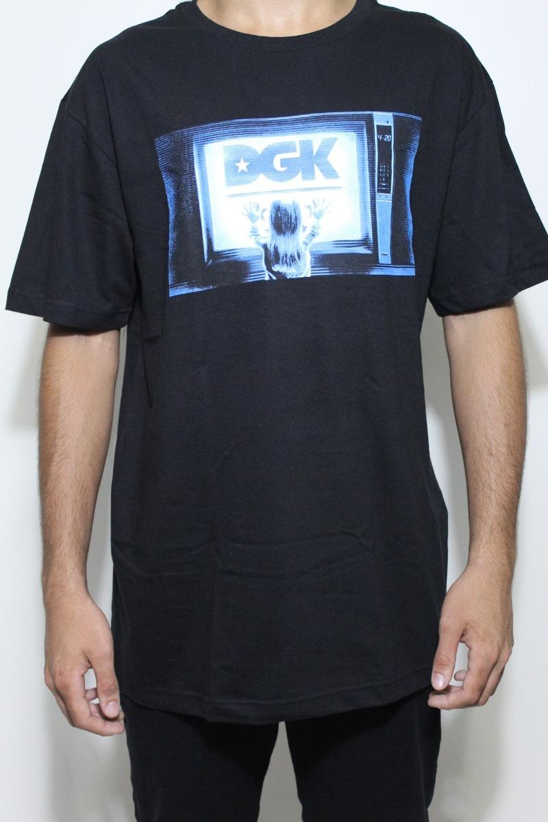 camiseta dgk static preta. Carregando zoom. 984478af5ff71