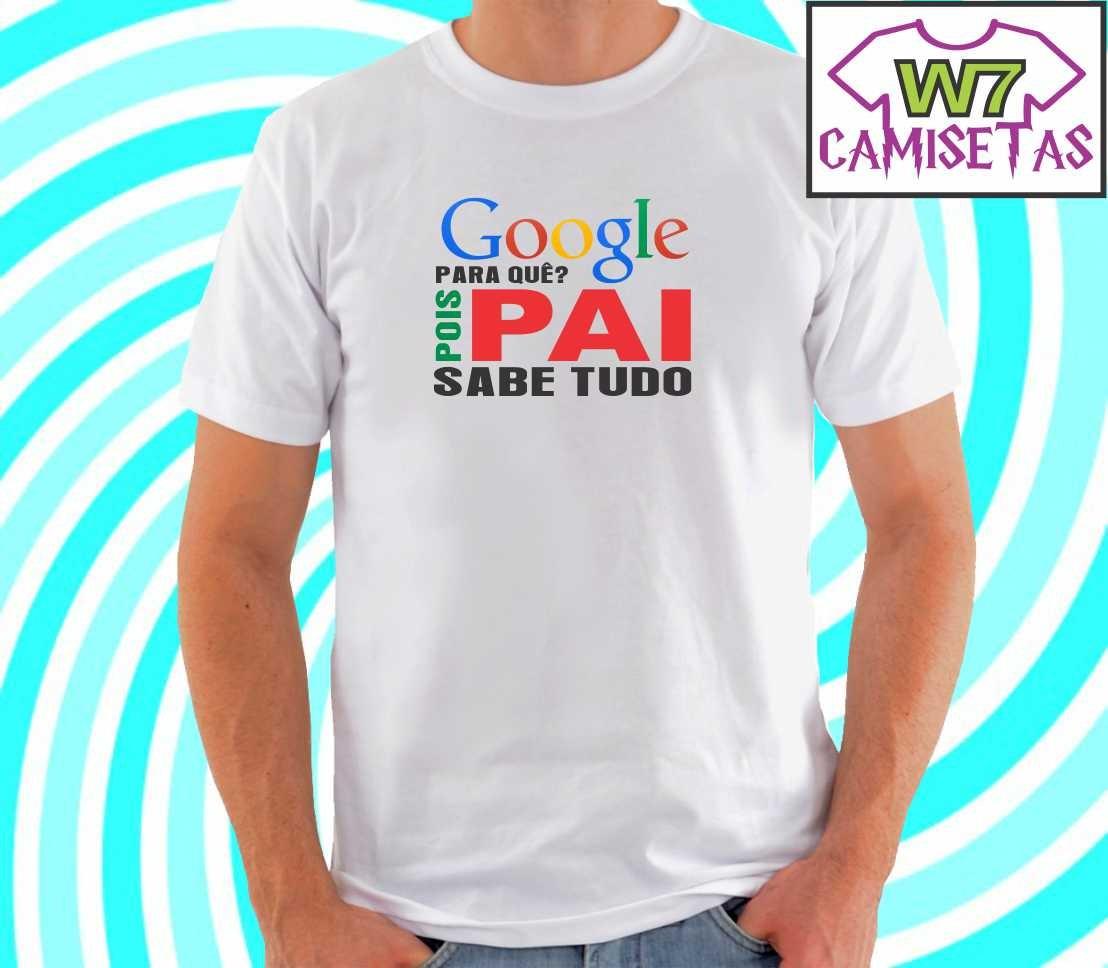 0f9f6a2c7 camiseta dia dos pais - pai sabe tudo. Carregando zoom.