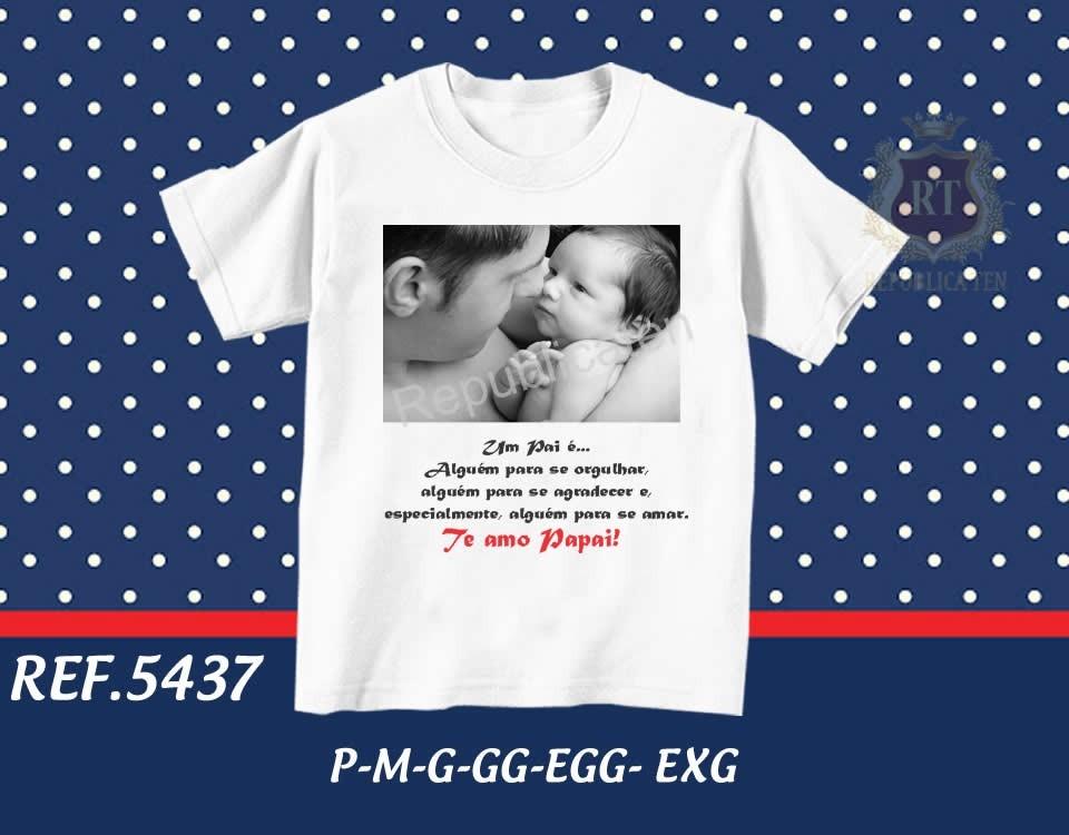 Camiseta Dia Dos Pais Personalizada Com Foto E Frase Vovô R 34