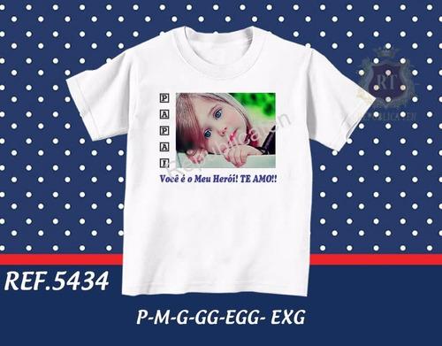 camiseta dia dos pais personalizada com foto e frase - vovô