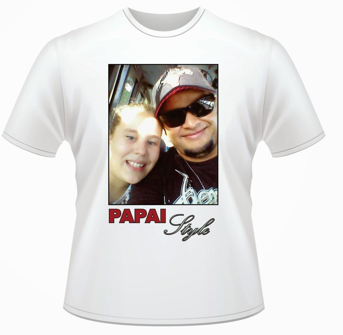 Camiseta Dia Dos Pais Personalizado Com Sua Foto E Frase R 3490
