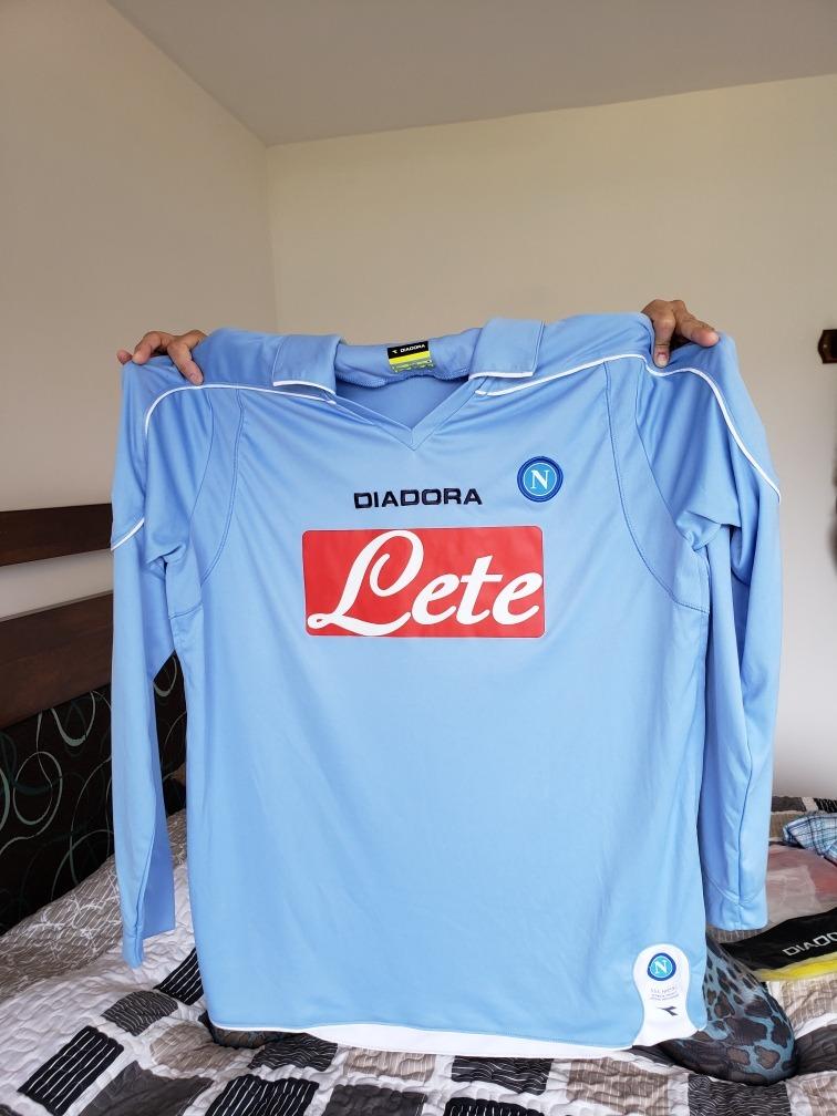 98446dd9fc208 camisetas de futbol Napoli manga larga