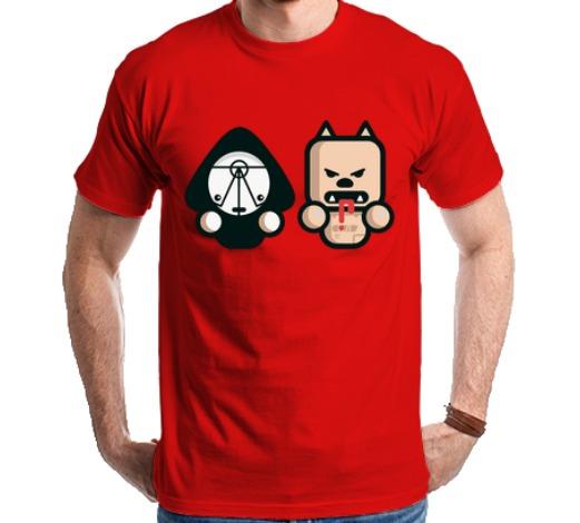 Camiseta Die Antwoord Pitbull Terrier Yo-landi Vi$$er Ninja