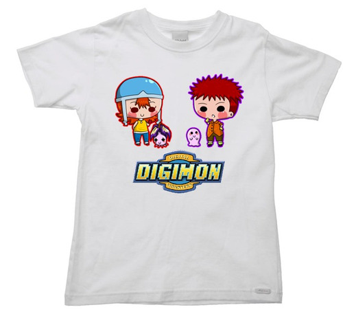 camiseta digimon - anime - 019 - 2 ao 16