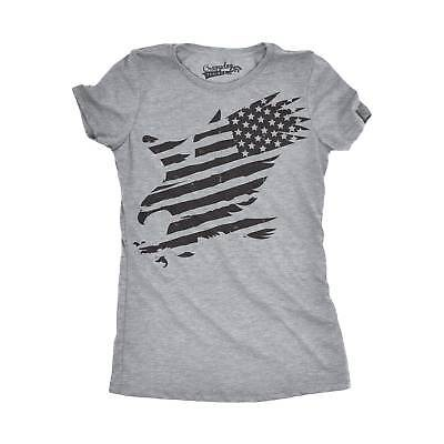 Divertida Para Camiseta Eagle Mujer American OZwq0a