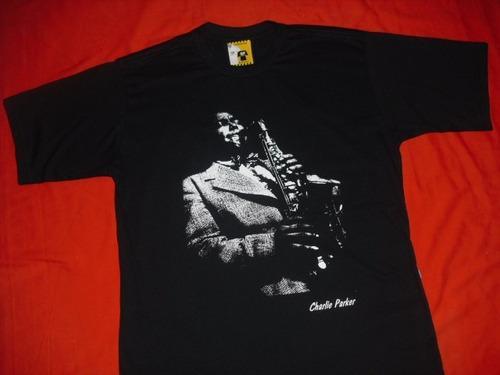 camiseta dizzy gillespie charlie parker nina simone