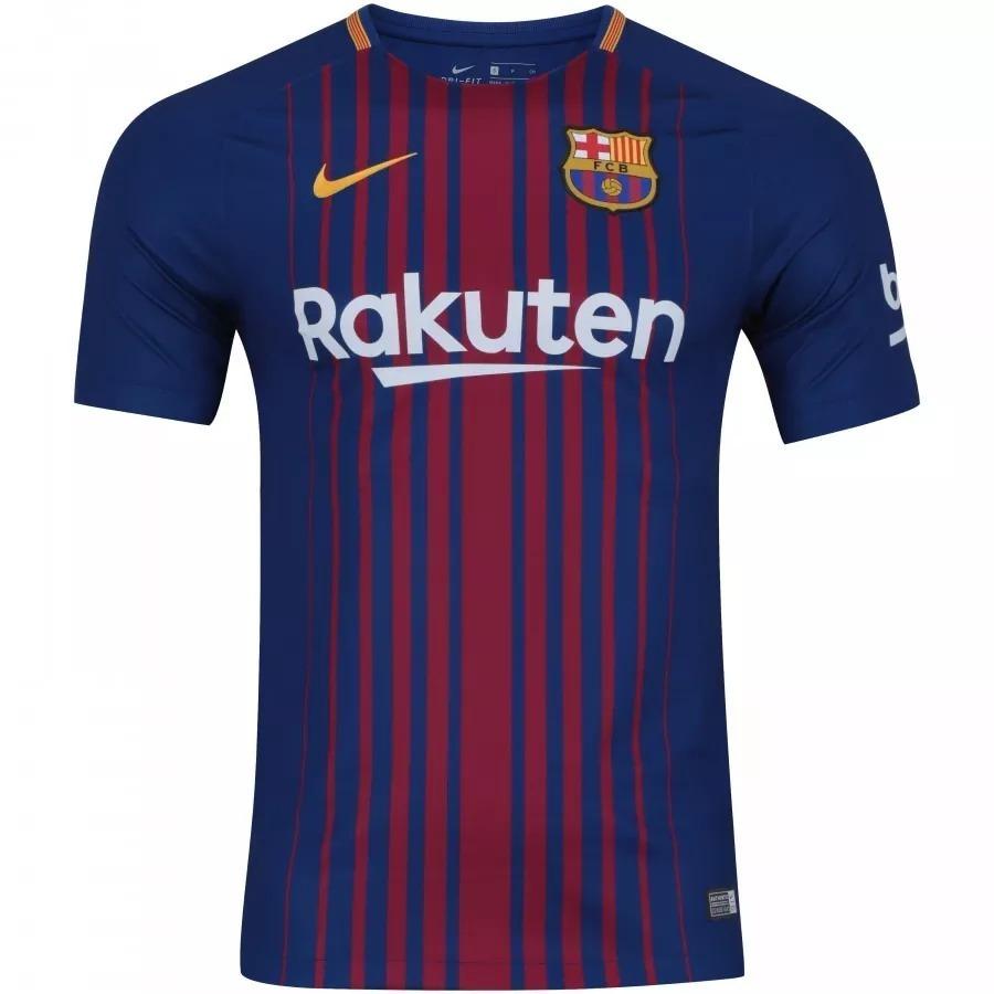 fb433d2d0 camiseta do barcelona 2017   2018 original 100% nike - 88. Carregando zoom.