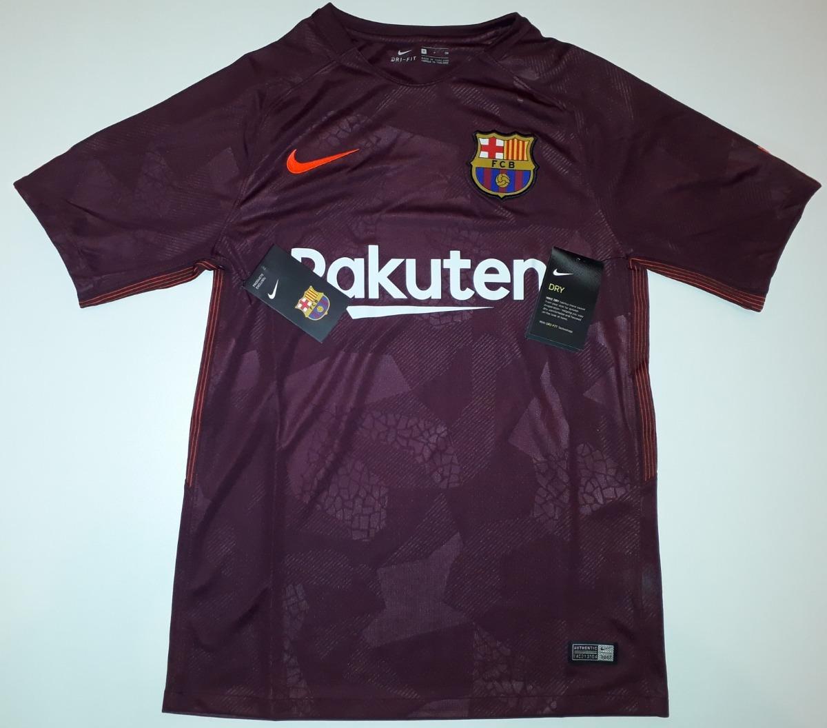 e54719f77d camiseta do barcelona grená 2017   2018 original nike - 28. Carregando zoom.
