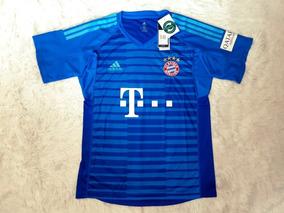 fcf93d245b Camisa Goleiro Azul Escuro Bayern - Camisas de Futebol com Ofertas Incríveis  no Mercado Livre Brasil