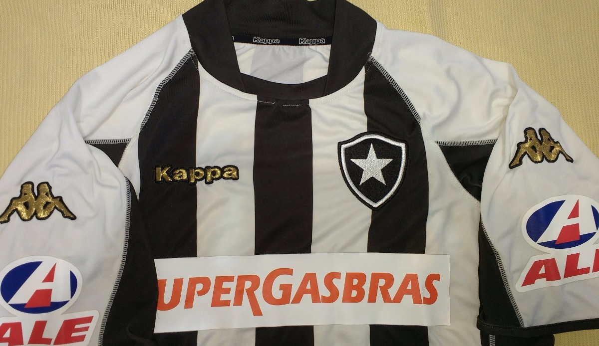 camiseta do botafogo kappa original supergasbras - 18. Carregando zoom. 8495299aab270