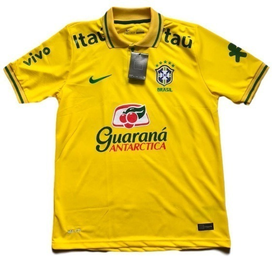 7254c31cda Camiseta Do Brasil Nova Polo Treino Passeio Neymar Atacado - R  49 ...