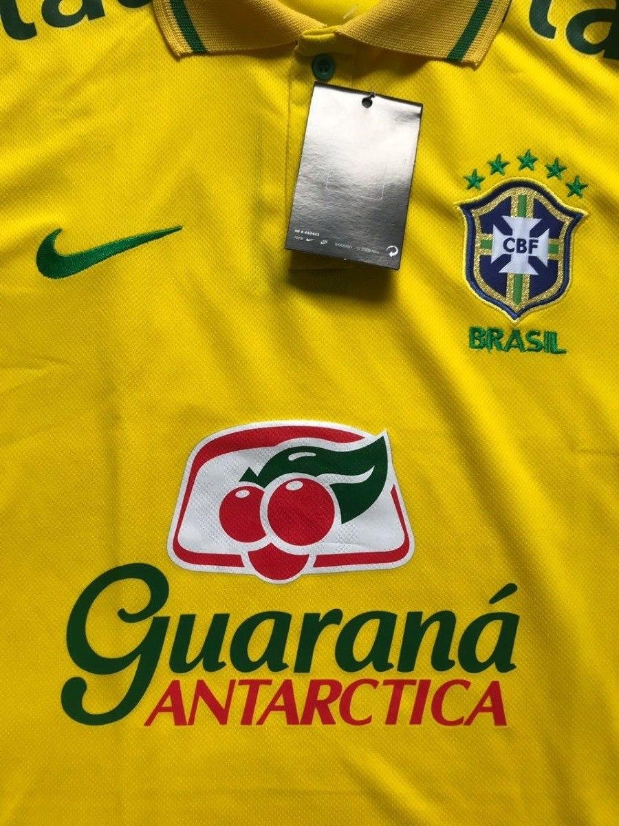 36a7a9fdc0 camiseta do brasil nova polo treino passeio neymar atacado. Carregando zoom.