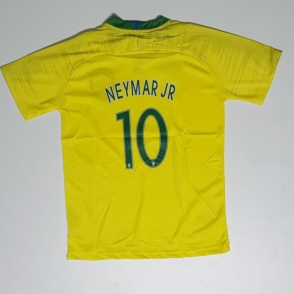 e155e54cbc camiseta do brasil oficial original 2018 neymar jr. nike. Carregando zoom.