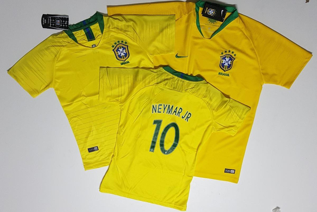 camiseta do brasil oficial original 2018 neymar jr. nike. Carregando zoom. 419a249cf3806