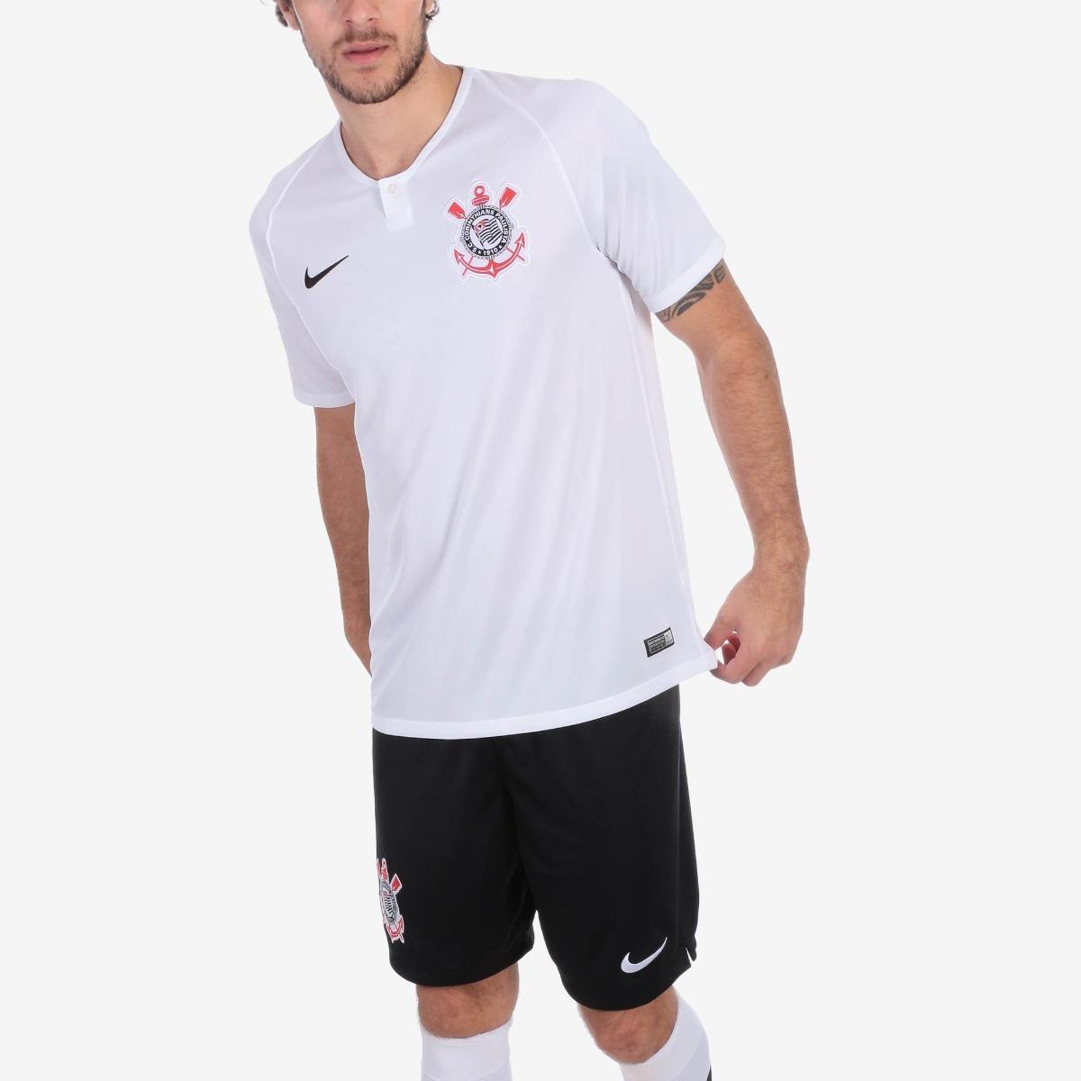 Camiseta Do Corinthians Oficial 18 19-oferta Netshoes Peça - R  69 ... 291a10c5c19e1