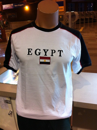 camiseta do egito